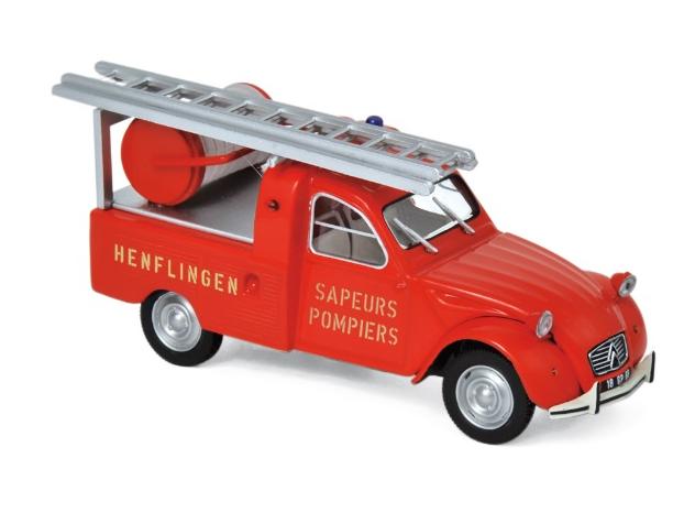 NOREV/ノレブ シトロエン 2CV ピックアップ 梯子車 (1963)