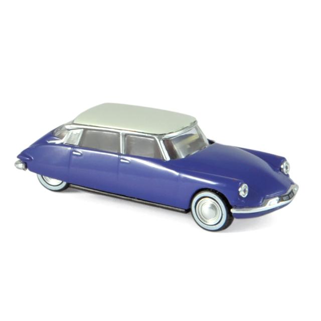 NOREV/ノレブ シトロエン DS19 1959 4台セット デルフィニウムブルー ホワイトルーフ