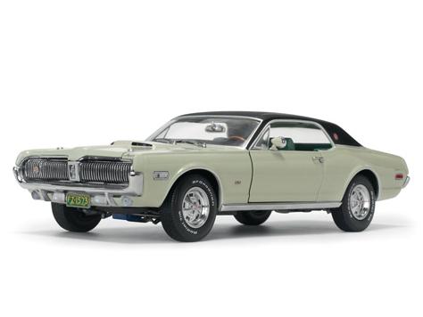 SunStar/サンスター マーキュリー クーガー XR7G 1968 シーフォーム グリーン
