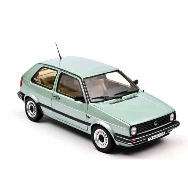 NOREV/ノレブ VW  ゴルフ CL 1987 メタリックライトグリーン