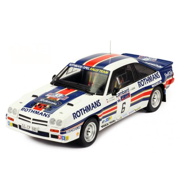 ixo/イクソ オペル マンタ  400  1983年RACラリー  #6  A.Vatanen/T.Harryman