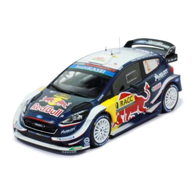 ixo/イクソ フォード フィエスタ WRC 2018年ラリー・カタルーニャ #2 E.Evans/D.Barritt