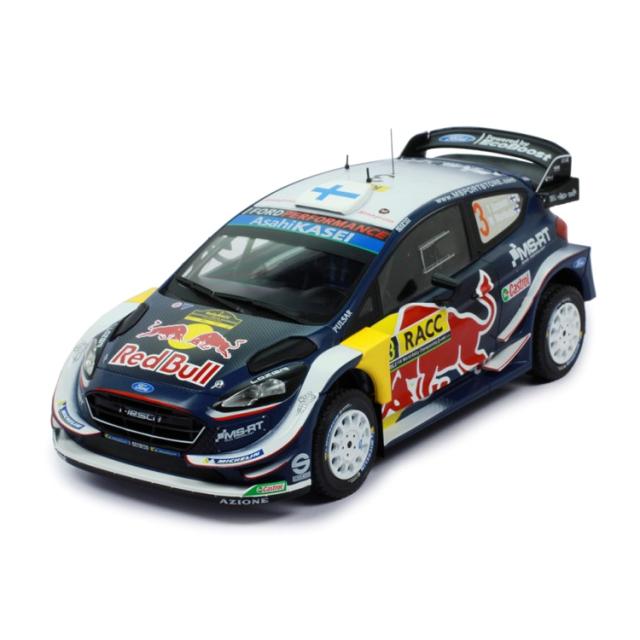 ixo/イクソ フォード フィエスタ WRC 2018年ラリー・カタルーニャ #3 T.Suninen/M.Markkula?