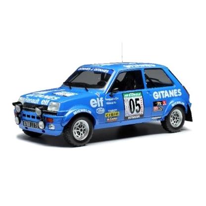 ixo/イクソ ルノー 5 アルピーヌ 1978 Rally Bandama #5 G.Frequelin / J.Delaval