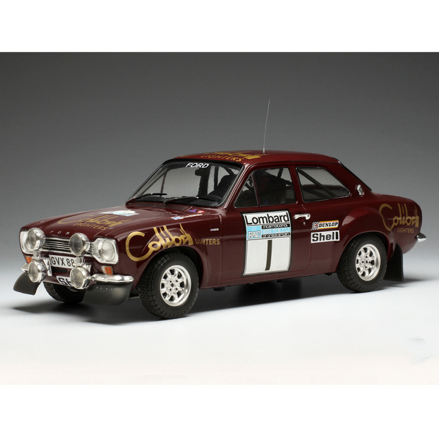 ixo/イクソ フォード エスコート MK1RS 1600 1974 RACラリー #1 T.Makinen/H.Liddon