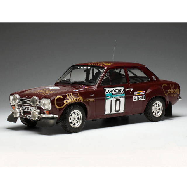 ixo/イクソ フォード エスコート MK1RS 1600 1974 RACラリー #10 H.Mikkola/J.Davenport