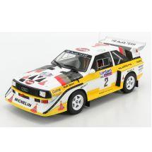 ixo/イクソ アウディ スポーツ クアトロ S1  1985 RACラリー #2 H.Mikkola/A.Hertz