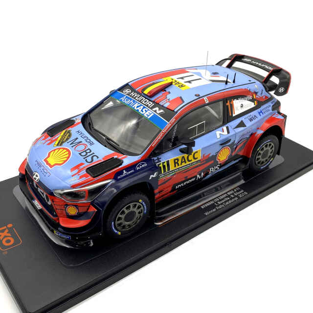 ixo/イクソ ヒュンダイ i20 クーペ WRC 2019年カタルーニャラリー 優勝車 #11