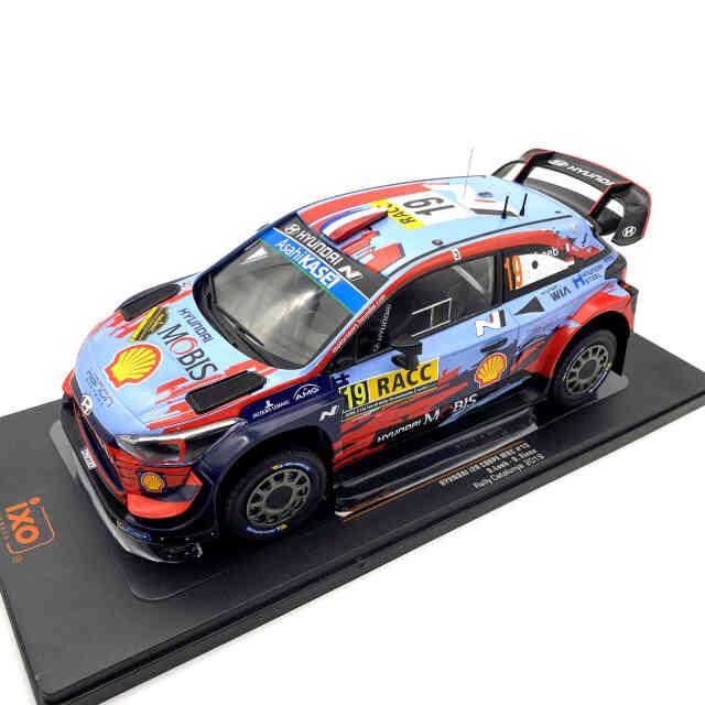 ixo/イクソ ヒュンダイ i20 クーペ WRC 2019年カタルーニャラリー#19 S.Loeb / D. Elena