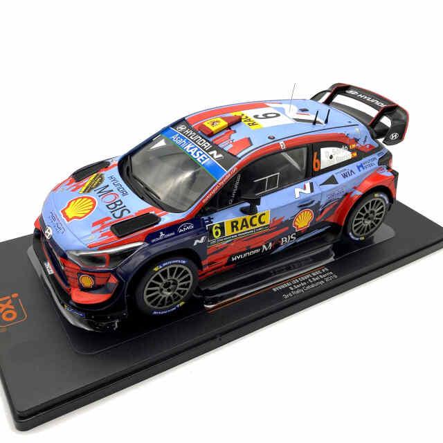 ixo/イクソ ヒュンダイ i20 クーペ WRC 2019年カタルーニャラリー3位 #6