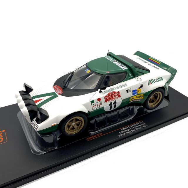 ixo/イクソ ランチア ストラトス HF 1975年サンレモラリー 優勝車#11