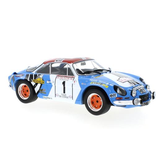 ixo/イクソ アルピーヌ ルノー A110 1973年ツール・ド・コルス 優勝車 #1