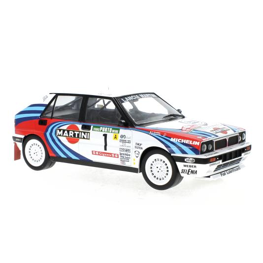 ixo/イクソ ランチア デルタ インテグラーレ 16V 1990年ラリー・ポルトガル 優勝車 #1