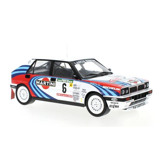 ixo/イクソ ランチア デルタ インテグラーレ 16V 1990年ラリー・ポルトガル 3位 #6