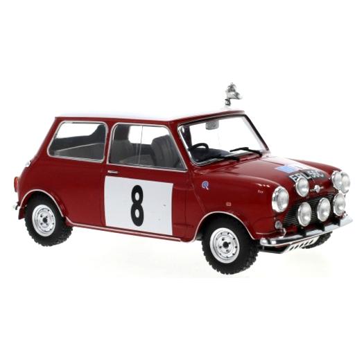 ixo/イクソ ミニ クーパー S 1965 RACラリー #8 P.Hopkirk/H.Liddon