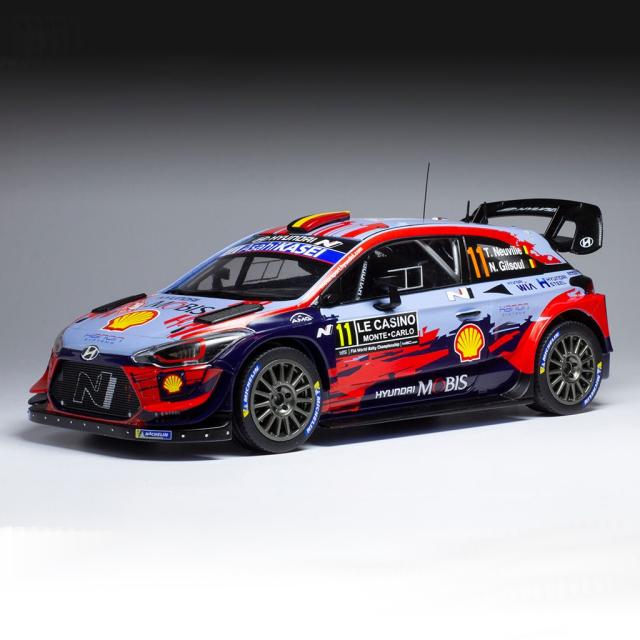 ixo/イクソ ヒュンダイ i20 クーペ WRC 2020 ラリー・モンテカルロ 優勝 #11