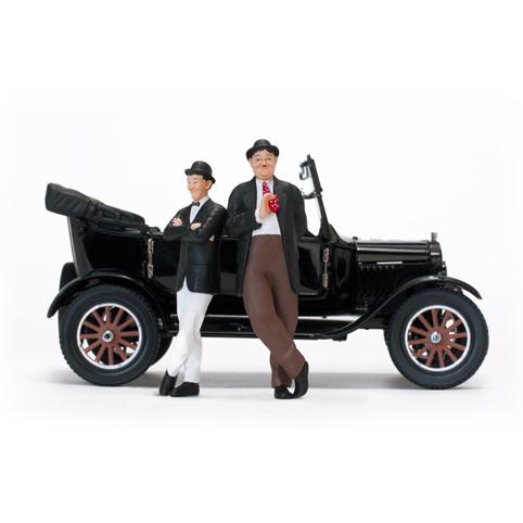 SunStar/サンスター フォード モデル T 1925 ツーリング オープン ブラック ローレル&ハーディ