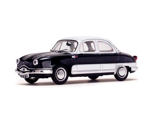 Quartzo/カルツォ パナール ダイナ Z12 Grand Standing 1957  ブラック/クリームホワイト