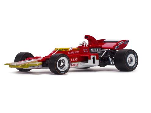 Quartzo/カルツォ ロータス 72D  1971年フランスGP 3位 #1 Emerson Fittipaldi