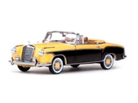 VITESSE/ビテス メルセデス・ベンツ 220 SE カブリオレ 1958  イエロー/ブラジルブラウン