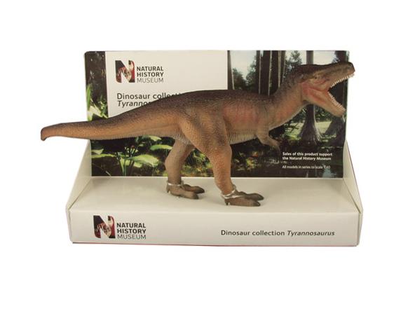 POCKETBOND/ポケットボンド 英国自然史博物館 ティラノサウルス  (26cm)