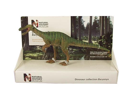 POCKETBOND/ポケットボンド 英国自然史博物館 バリオニクス (22cm)