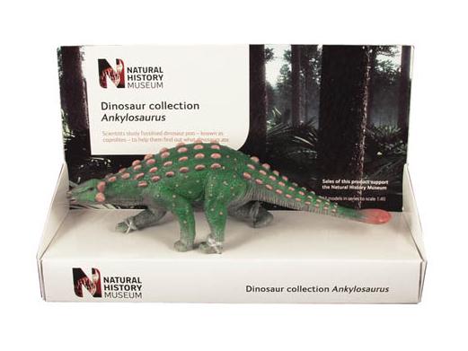 POCKETBOND/ポケットボンド 英国自然史博物館 アンキロサウルス (21cm)