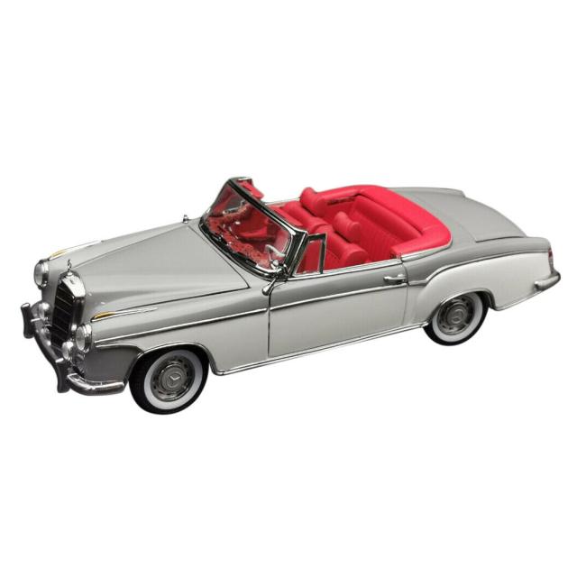 SunStar/サンスター メルセデス・ベンツ 220SE 1958 オープンコンバーチブル グレー/ホワイト