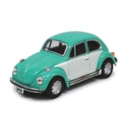 Cararama/カララマ VW  ビートル ライトブルー/ホワイト