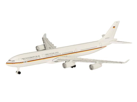 "Schuco Aviation A340-300 ドイツ政府専用機 ""BRD K.Adenauer"""