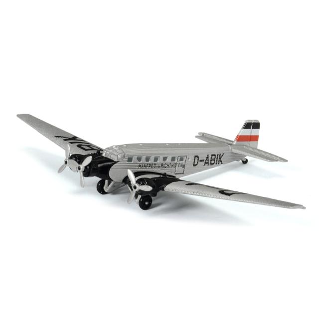 Schuco Aviation ユンカース Ju52/3m シルバー Manfred von Richthofen
