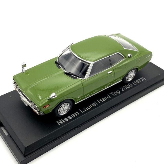NOREV J/ノレブジェイ ニッサン ローレル  ハードトップ 2000 SGX 1972年 グリーン