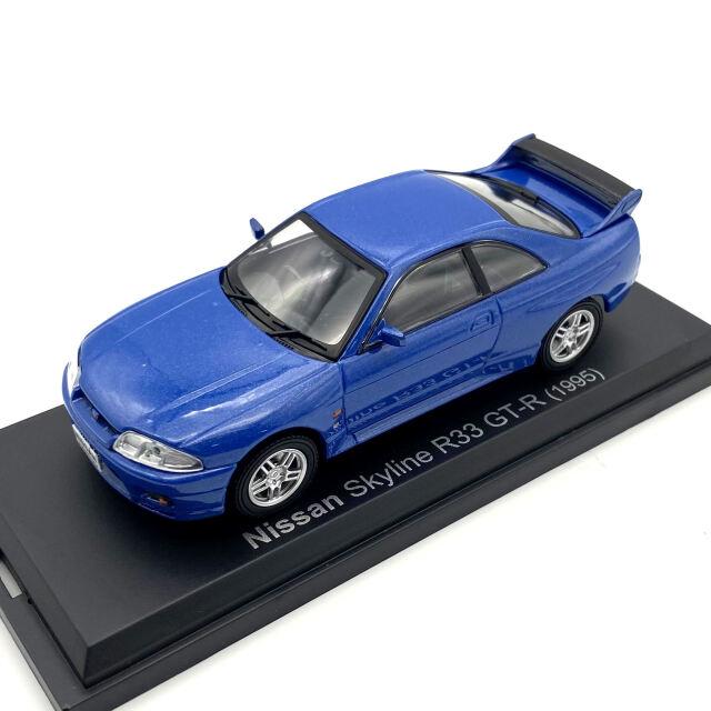 NOREV J/ノレブジェイ 日産 スカイライン R33 GT-R 1995 ブルー