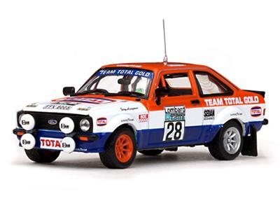 VITESSE/ビテス フォード エスコート RS1800 79 RAC Rally#28