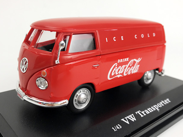 Coca-Cola VW カーゴ バン 1962 レッド  Ice Cold