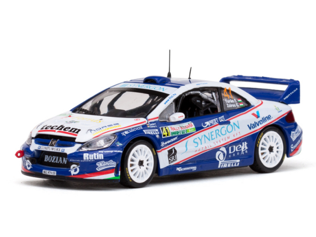 VITESSE/ビテス プジョー307 WRC 10 Rally Bulgaria#41