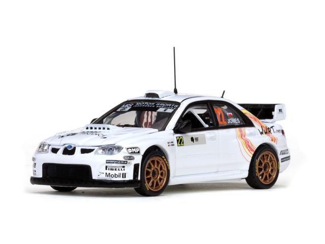 VITESSE/ビテス スバルインプレッサ WRC 07 08 Tour de Corse Rally de France