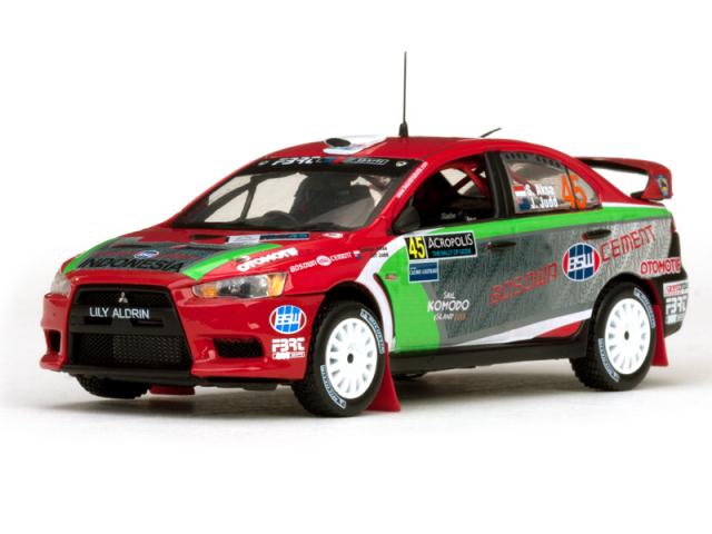 VITESSE/ビテス 三菱 ランサーエボリューション X 2nd PWRC - 12 Acropolis Rally