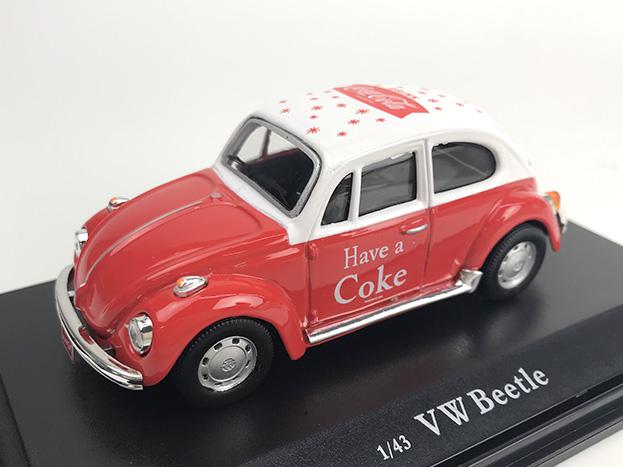 Coca-Cola VW ビートル 1966 レッド