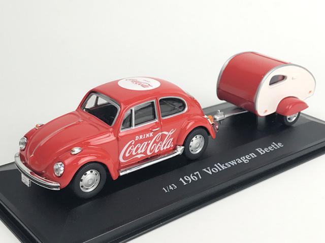 Coca-Cola VW ビートル  1967 トレーラー付