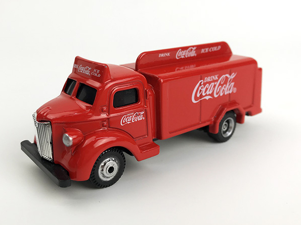 Coca-Cola Coca-Cola ボトルトラック 1947 レッド