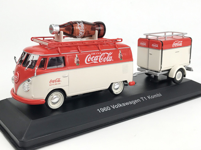 Coca-Cola VW コンビ T1 1960 トレーラ付