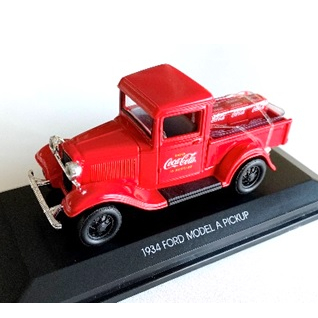 Coca-Cola フォード モデル A ピックアップ 1934 ボトルカートンケース6個付