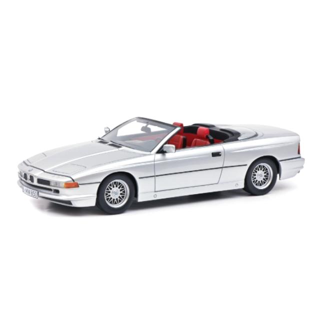 Schuco/シュコー BMW 850 Ci カブリオレ シルバー