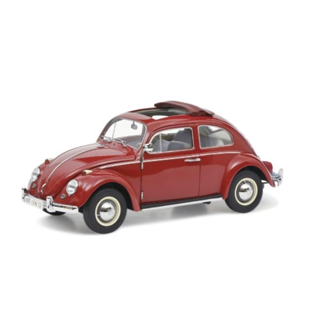 Schuco/シュコー VW ビートル フォールディングルーフ レッド