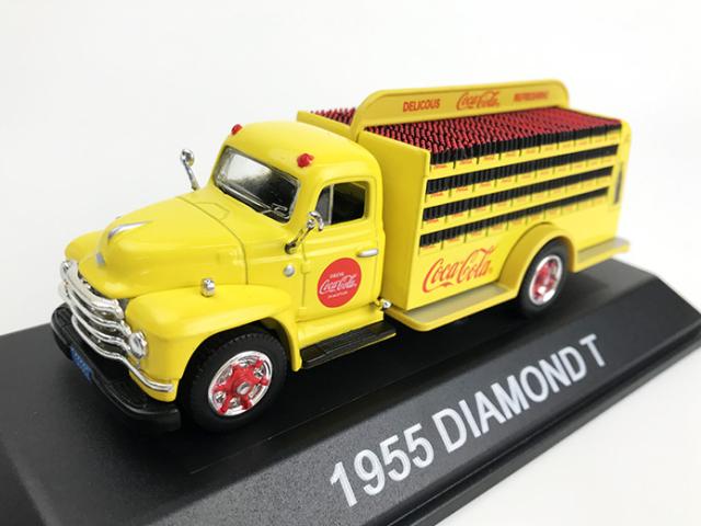 Coca-Cola ダイアモンド T ボトル デリバリー トラック 1955