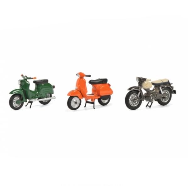 Schuco/シュコー バイクセット 2020 シュワルベ KBS1 ベスパPX クライドラー フローレット