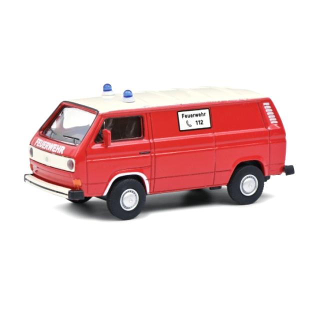 Schuco/シュコー VW T3 消防車両 レッド/ホワイト