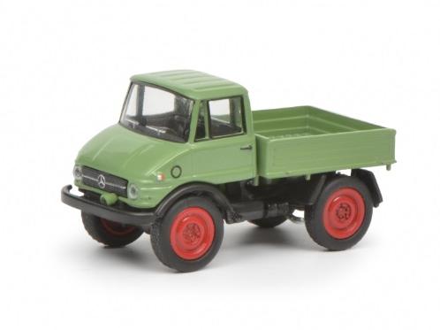 Schuco/シュコー メルセデス・ベンツ Unimog 406 ライトグリーン