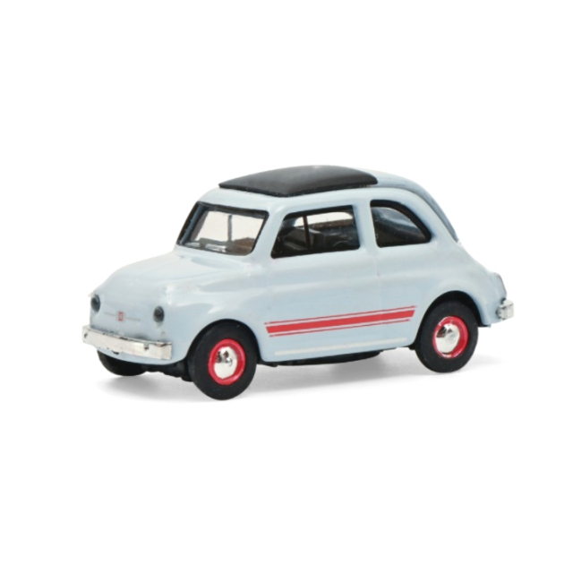 Schuco/シュコー Fiat 500 Sport ブルー/グレー